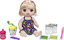 Baby Alive лялька Пупс з блендером блондинка Sweet Spoonfuls Blonde Baby Girl Doll