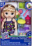 Baby Alive лялька Пупс з блендером блондинка Sweet Spoonfuls Blonde Baby Girl Doll, фото 2