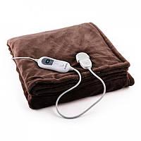 Электрическое одеяло Klarstein Watson XL 120 Вт 180x130 см, темно-коричневый Германия