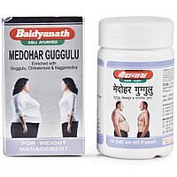 Медохар Гуггул, снижение веса, вывод токсинов, 120 таб, атеросклероз, диабет, Medohar Guggulu