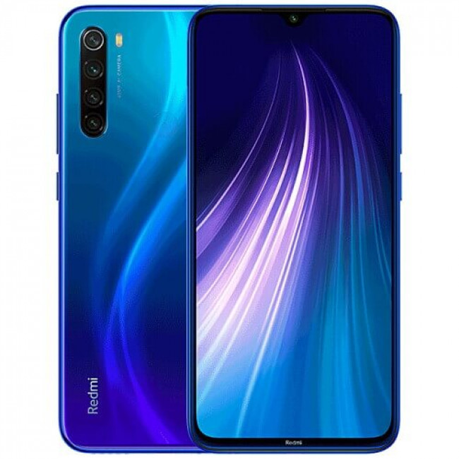 Xiaomi Redmi Note 8 4/128GB Blue Global Гарантия 1 Год