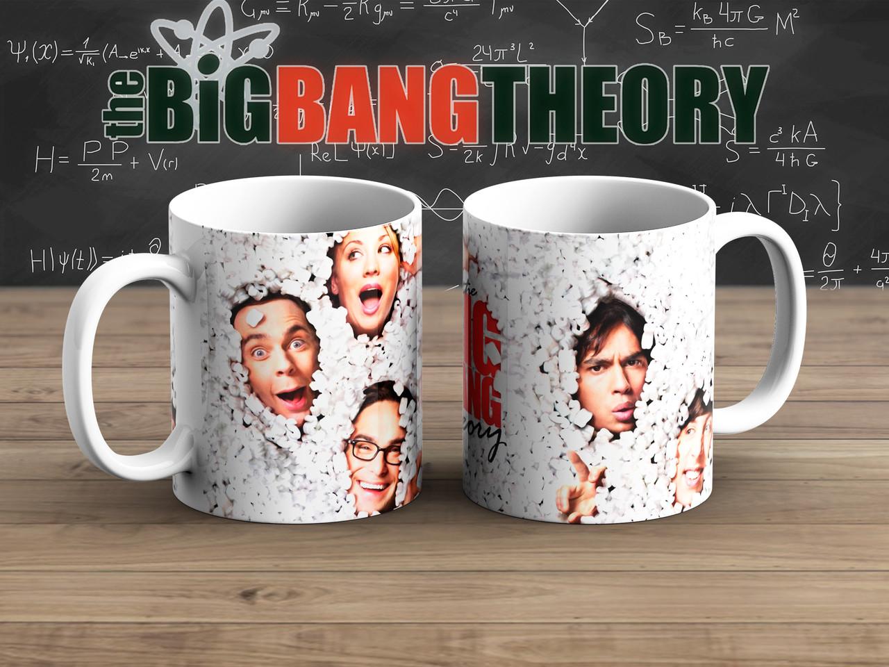 Чашка Лица Теория Большого взрыва / The Big Bang Theory