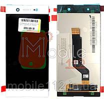 Модульный дисплей Sony G3212 Xperia XA1 Ultra Dual G3221 G3223 G3226 Экран + тачскрин БЕЛЫЙ оригинал
