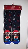 """Новогодние носки женские  зимние махровые внутри высокие  хлопок """"Ekmen """"36-41, фото 1"""