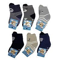 Теплые носочки для новорожденных мальчиков, 6-12 мес.