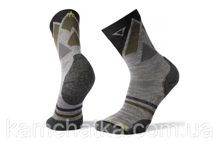 Термоноски Smartwool Men's PhD Outdoor Light Pattern Crew Hiking Socks