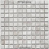Мозаика СМ3018 С White - керамическая мозаика 300х300