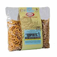 Макароны «ЗДОРОВЬЕ» №1 с зерна твердых сортов пшеницы  400грамм