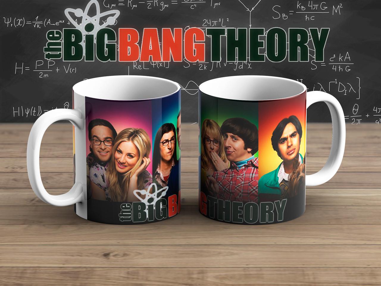 Чашка на разных фонах Теория Большого взрыва / The Big Bang Theory