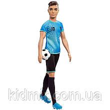 Лялька Барбі Кен Футболіст Кар'єра Barbie Careers Ken Soccer FXP02