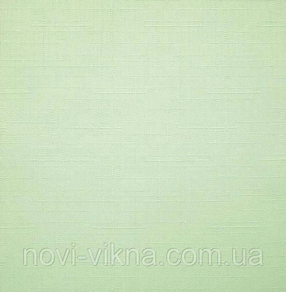 Рулонные жалюзи открытого типа, Len 2073, салатовые.