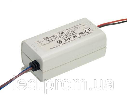 Блок питания Mean Well 12.6W DC18V IP42 (APC-12-700)