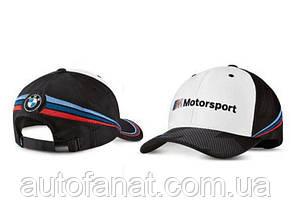 Оригинальная бейсболка BMW Motorsport Collectors Cap, Unisex, White/Black (80162461127)