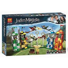 """Конструктор Bela 11004 """"Матч по квиддичу"""" (аналог Lego Harry Potter 75956), 536 деталей"""