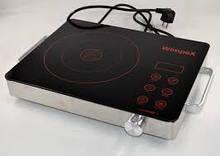 Настольная электрическая инфракрасная плита WIMPEX WX1324 2000W с таймером