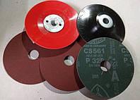 Полировальные круги фибровые р320 Клингспор 125 мм