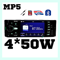 Mp5 магнитола на авто Fantom FP-4060 Black/Green, фото 1