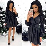 Сукня жіноча вечірня чорний, пляшка, бордо, пудра, фото 3