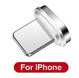 GETIHU Магнитный кабель lightning usb тип №2 быстрая зарядка 3А iPhone Цвет синий, фото 2