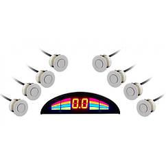Парктроник GT P Rainbow 8 silver (P RB8 Silver)