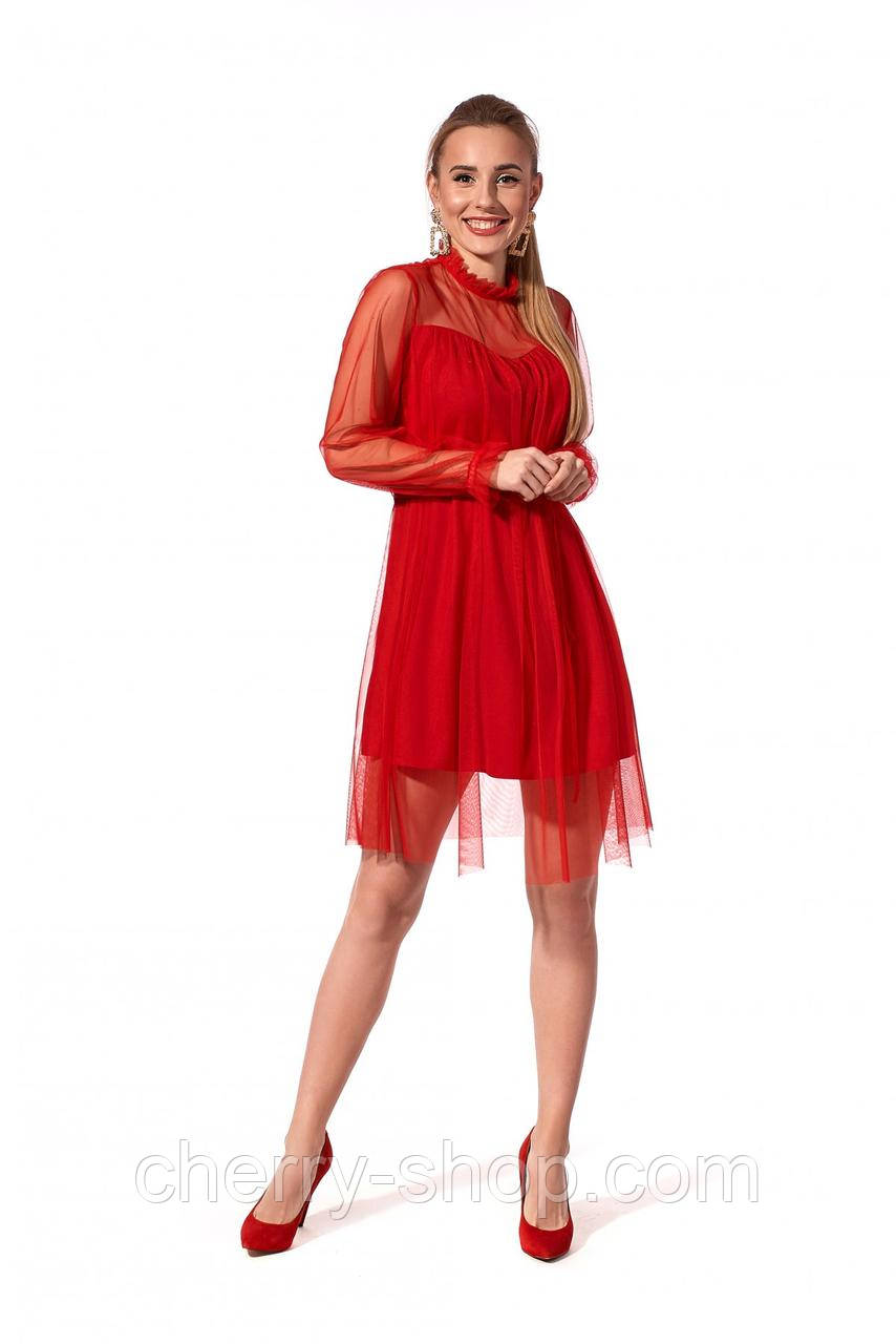 Женственное праздничное платье в размере 42-48