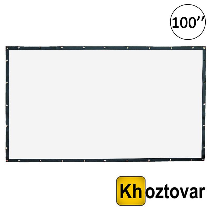 Экран для проектора натяжной