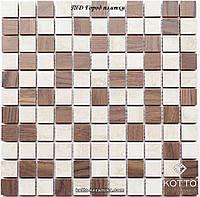 Мозаика СМ3016 С2 Baige Brown - керамическая мозаика 300х300