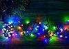 Гирлянда кристал 1,8 40LED 5м (флеш) ЧП RGB, Новогодняя бахрама, Светодиодная гирлянда, Уличная гирлянда