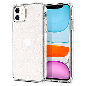 "TPU чохол Clear Shining для Apple iPhone 11 (6.1 "")."