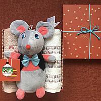 Подарочный набор с очаровательной мышкой (символ 2020 года)