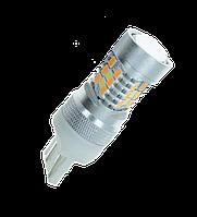 Светодиодная лампа LED 4G28 P21/5W/7443 Для американских авто (Двухцветная), фото 1