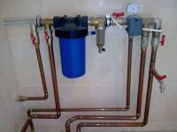 Монтаж систем отопления и водопровода