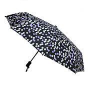 Зонт складной, автомат, 10 спиц, фиолетовый горошек