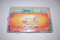 Набор резиночек для плетения Rainbow Loom 4800 шт. со станком (органайзер)