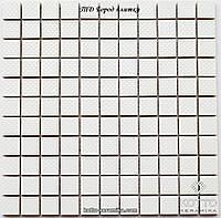 Мозаика СМ3013 С White - керамическая мозаика 300х300