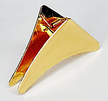 Металевий краб для волосся - трикутник (3 шт), фото 3