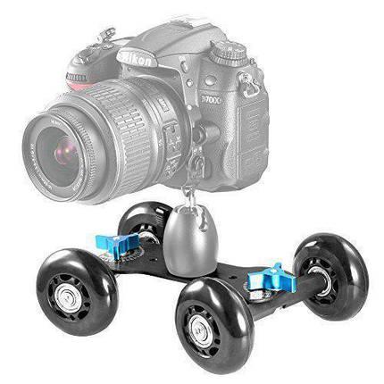 Оренда, прокат DSLR вантажівки, візки для камери, візок доллі, Skater Dolly, Dolly car, скейт для камери., фото 2