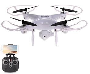 Квадрокоптер Sky Drone LH-X25 c WiFi-камерой / Летающий дрон с  HD камерой / Вращение 360 градусов + подарок