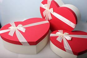 Коробочки в форме сердца