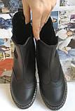 Подростковые  ботинки в стиле Timberland челси натуральная кожа оксфорд, фото 3