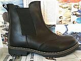 Подростковые  ботинки в стиле Timberland челси натуральная кожа оксфорд, фото 5