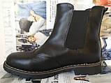 Подростковые  ботинки в стиле Timberland челси натуральная кожа оксфорд, фото 6