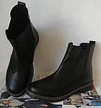 Подростковые  ботинки в стиле Timberland челси натуральная кожа оксфорд, фото 8