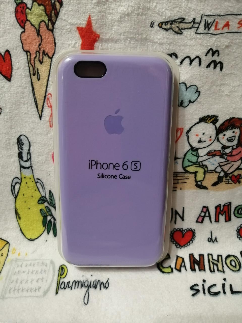 Силиконовый чехол для Айфон  6 / 6S  Silicon Case Iphone 6 / 6S в защищенном боксе - Color 22