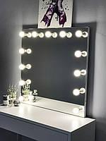 Гримерное зеркало безрамное 80х80 см