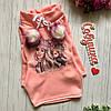 Платье туника теплое трехнить на флисе Бумбоны 98-128 рост