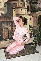 Костюм жіночий домашній (5шт)Велюр, фото 1