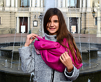 Легендарный кашемировый шарф Chadrin фуксия
