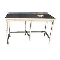 Стол для сбора отходов с усиленным каркасом ( 6 ног)