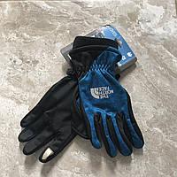 Зимние перчатки The North Face, синие